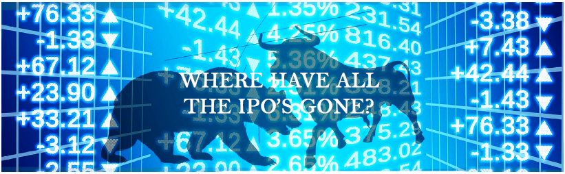 Where have all the IPOs Gone?